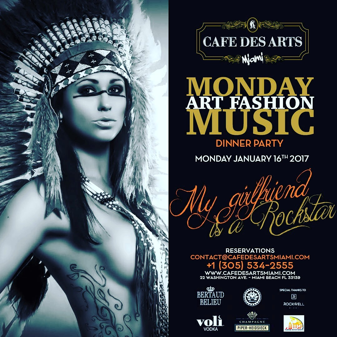 Monday Night Event South Beach January 16th, 2017