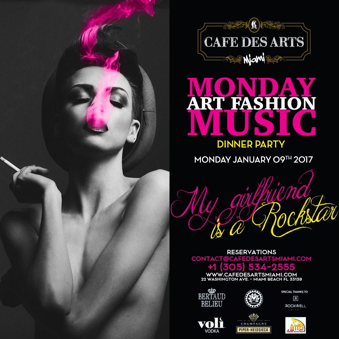 January 9th 2017 Monday Night Event South Beach